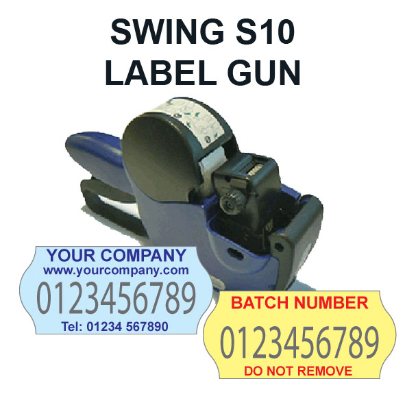 swing s10 label gun