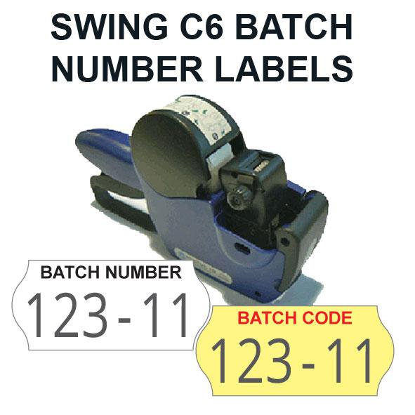 basic batch number labeller