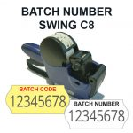 batch number labeller c8