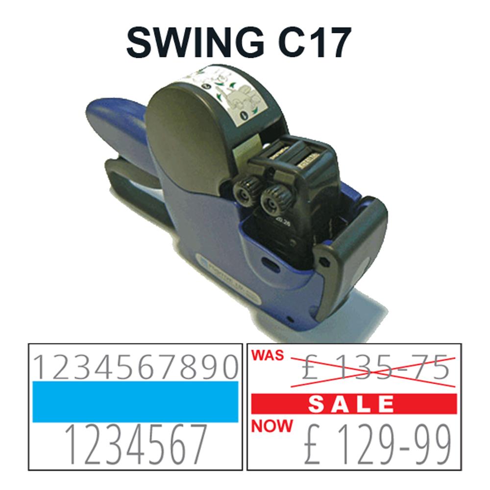 swing c17 label gun