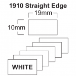 1910 White Price Gun Labels - 19 x 10mm Pricing Gun Labels
